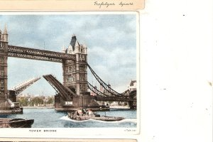 The Tower Bridge. London  A Tuck postcard