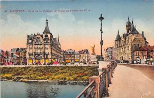 BR28460 Pont de la Victorie et Place de l Hotel de Ville france