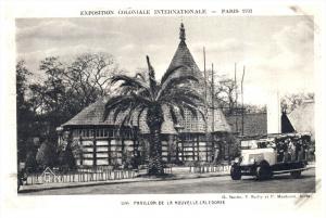 1961 Paris  1931  Exposition Coloniale Int. - Pavillon de la Nouvelle Caledonie