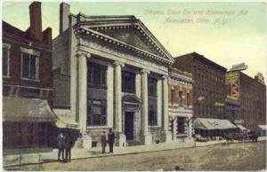Citizens Trust Co and Homestead Aid Association, Utica, New York, 1909 PU
