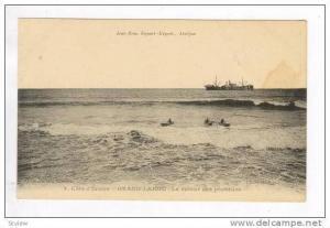 Cote d´Ivoire, GRAND-LAHOU - Le retour des pecheurs, 00-10s