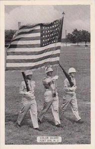 New Jersey Fort Dix Color Guard Dexter Press