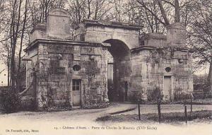 Porte De Charles Le Mauvais (XVI Siecle), Chateau d'Anet (Eure-et-Loir), Fran...