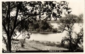 USA PC Wood Lake, Frederic, Wis. (a638)