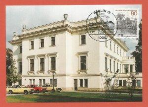 MAXI CARD – GERMANY, BERLIN – 1982 - VILLA VON DER HEYDT