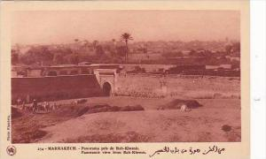 Morocco Marrakesh Panoramic View From Bab-Khemis 1920s-30s