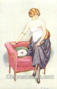 Series 59 - No. 2 F. Fabiano, (France ) Artist Signed Unused light indentatio...