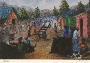 PETIONVILLE, Haiti, 1950-1970's; Replica of Painting By Pierre-Louis, Collect...