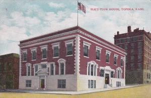 Elk's Club House, TOPEKA, Kansas, PU-1910