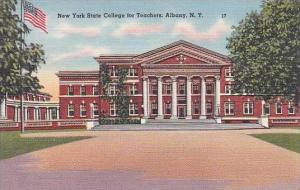New York Albany New York State College For Teachers