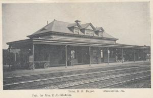 DUNCANNON, Pennsylvania, 1901-07; Pennsylvania Railroad Station