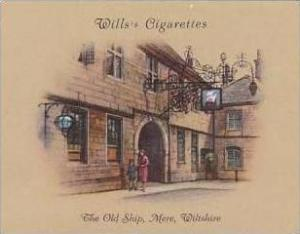 Wills Cigarette Card 2nd Series No 25 Old Ship Mere Wiltshire