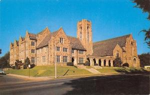 Memphis Tennessee~Idlewild Presbyterian Church~Bell Tower~Big Shade Tree 1950s