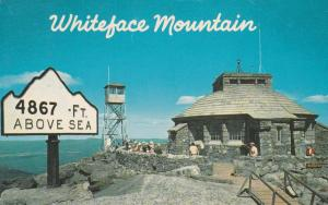 4867 Feet on Whiteface Mountain - Adirondacks, New York - pm 1967