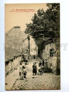 172494 FRANCE PARIS Rue Fontaine-a-Mulard Vintage postcard
