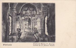 Poland Wieliczka Vorhalle der Saint Antonius Kapelle