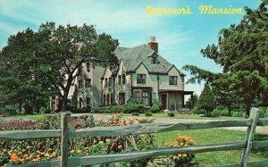 Topeka, Kansas, KS, Cedar Crest, Governor's Mansion, 1965 Chrome Postcard g8292