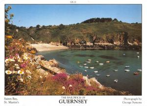 Guernsey Postcard Saints Bay, St Martins C.I by D.R Photography Ltd P25