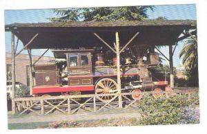 C.P. Huntington Locomotive, Sacramento, California,  40-60s