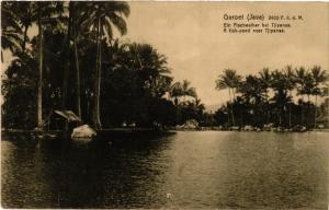 CPA GAROET JAVA Ein Fischweiher bei TJIPANAS INDONESIA (566241)