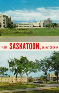 University Library & Conveation Hall , SASKATOON , Saskatchewan , Canada , 50...