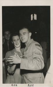 Happy Couple Dancing Movie Snaps Vancouver Island Vintage Real Photo Postcard E6