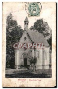 Postcard Old Chapel Come Bagneux