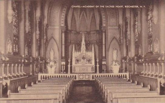 New York Rochester Chapel Academy Of The Scred Heart  Artvue
