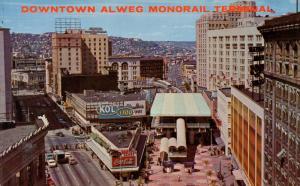 WA - Seattle, 1962. Seattle World's Fair (Century 21 Exposition). Alweg Monor...