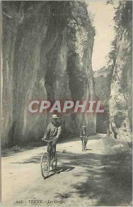 Postcard Old Yenne Velo Cycle Gorges