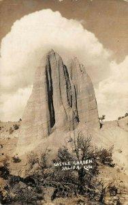 LP23   RPPC   Salida   Colorado Vintage Postcard Castle Garden