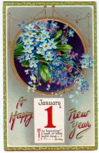 New Year - January 1 / Tuck's 602