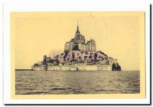 Mont Saint Michel Abbey Postcard General view East Coast