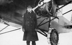 Early Boston-Maine Airways - Capt. Hazen R Bean, Pilot, with Stinson SM-6000B...