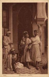 Beautiful Topless Arab Dancing Women (1920s) L. & L. 220 Postcard
