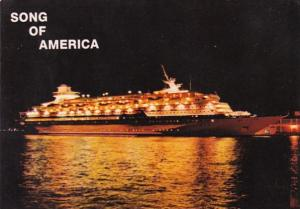 Royal Caribbean Lines Song Of America 1986
