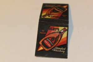 Schenley's Blended Whiskey 20 Strike Matchbook Cover