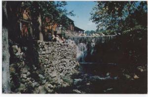 Weston, Connecticut, View of Cobb's Mill Inn, 1955