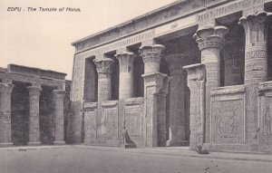 EDFU, Egypt, 1900-1910s; The Temple Of Horus