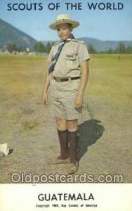 Guatemala Boy Scouts of America, Scouting Postcard, Post Cards, Copyright 196...