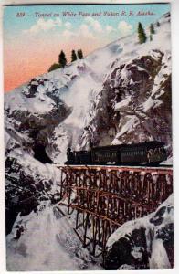 Tunnel on White Pass & Yukon RR AK