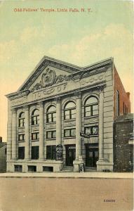 Little Falls New York~Odd Fellows Temple~IOOF~Hippodrome Theatre~Vaudeville~1910