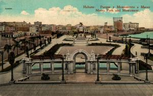 Cuba Habana Parque u Monumento a Maceo 02.18