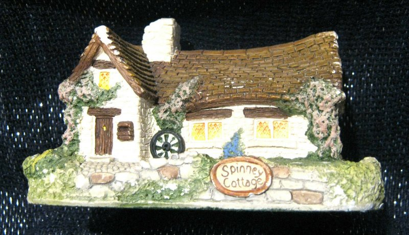 Memory lane Cottage - Spinney Cottage by Peter Tomlins approx 4.75 x 3 ins