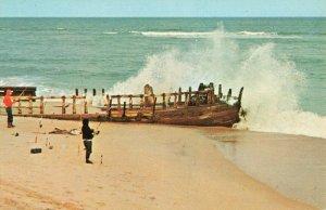 Postcard Schooner Altoona Outer Banks North Carolina