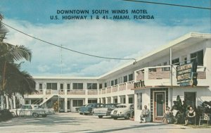 MIAMI , Florida , 1950-60s ; South Winds Motel