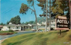 1950s De Anza Motel Roadside Santa Barbara California Dexter postcard 9379
