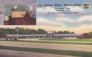 Tennessee Columbia Julian May's Motor Hotel