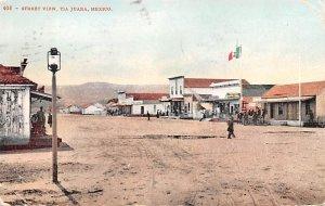 Street View Tijuana Mexico Tarjeta Postal 1908
