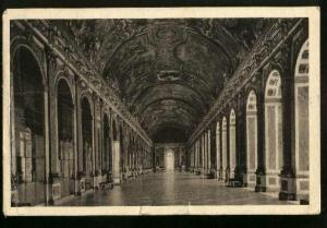 Paris - Gallery Des Glaces InChateau Versailles - Used 1937 - 2 Small Tears Bott